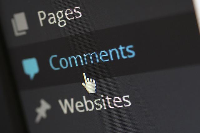 WordPressコメント機能